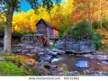 stock-photo-fall-colors-in-the-mountains-of-west-virginia-and-old-grist-mill-68151862