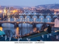 stock-photo-prague-at-twilight-view-of-bridges-on-vltava-131950643