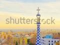 stock-photo-views-from-the-parc-guell-designed-by-antoni-gaudi-barcelona-spain-123221095