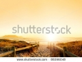 stock-photo-sunset-panorama-hdr-of-a-beach-near-cape-town-south-africa-table-mountain-can-be-seen-in-the-88396048