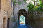 stock-photo-alleyway-civita-di-bagnoregio-lazio-italy-111033131