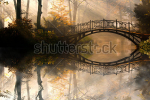 stock-photo-autumn-old-bridge-in-autumn-misty-park-112014296
