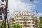 stock-photo-barcelona-spain-may-view-of-the-casa-mila-better-known-as-la-pedrera-designed-by-antoni-147175598