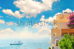 stock-photo-beautiful-mediterranean-landscape-view-of-sea-and-luxury-resort-of-cote-d-azur-in-provence-france-100122674
