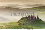 stock-photo-early-morning-on-countryside-san-quirico-d-orcia-tuscany-italy-58561546