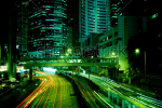 stock-photo-moving-car-with-blur-light-through-city-at-night-96736039
