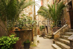 stock-photo-narrow-alley-with-old-buildings-in-typical-italian-medieval-town-143171095