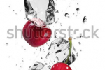 stock-photo-fresh-cherries-with-ice-cubes-isolated-on-white-background-127870646